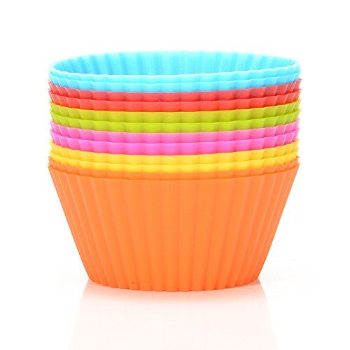 [$6.79 save 32%] #LightningDeal 75% claimed: Silicone Muffin Cups12 Pack 6 Colors Baking cupsReusable & Nonsti... http://www.lavahotdeals.com/ca/cheap/lightningdeal-51-claimed-silicone-muffin-cups12-pack-6/199915?utm_source=pinterest&utm_medium=rss&utm_campaign=at_lavahotdeals