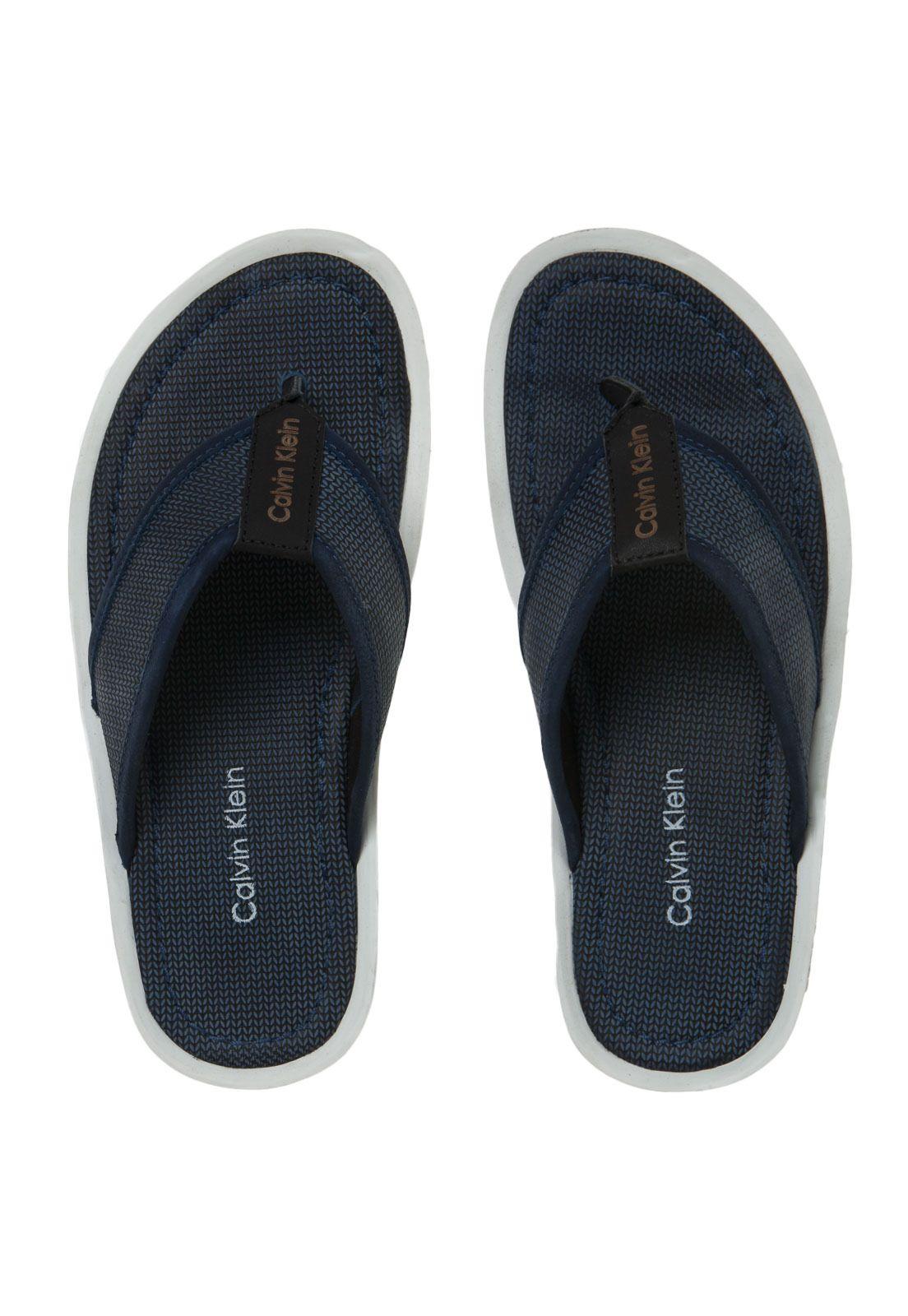 47a4923b7 Chinelo Calvin Klein Sunday Azul   Sneakers and Shoes   Calvin klein ...