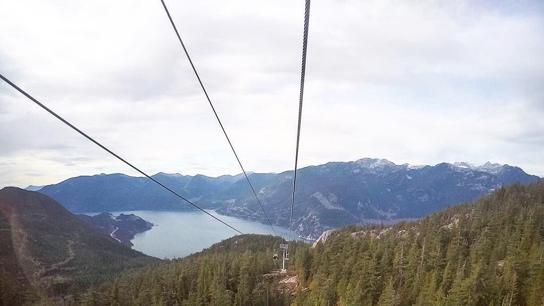 Sea to sky gondola near Squamish - a beautiful part of BC