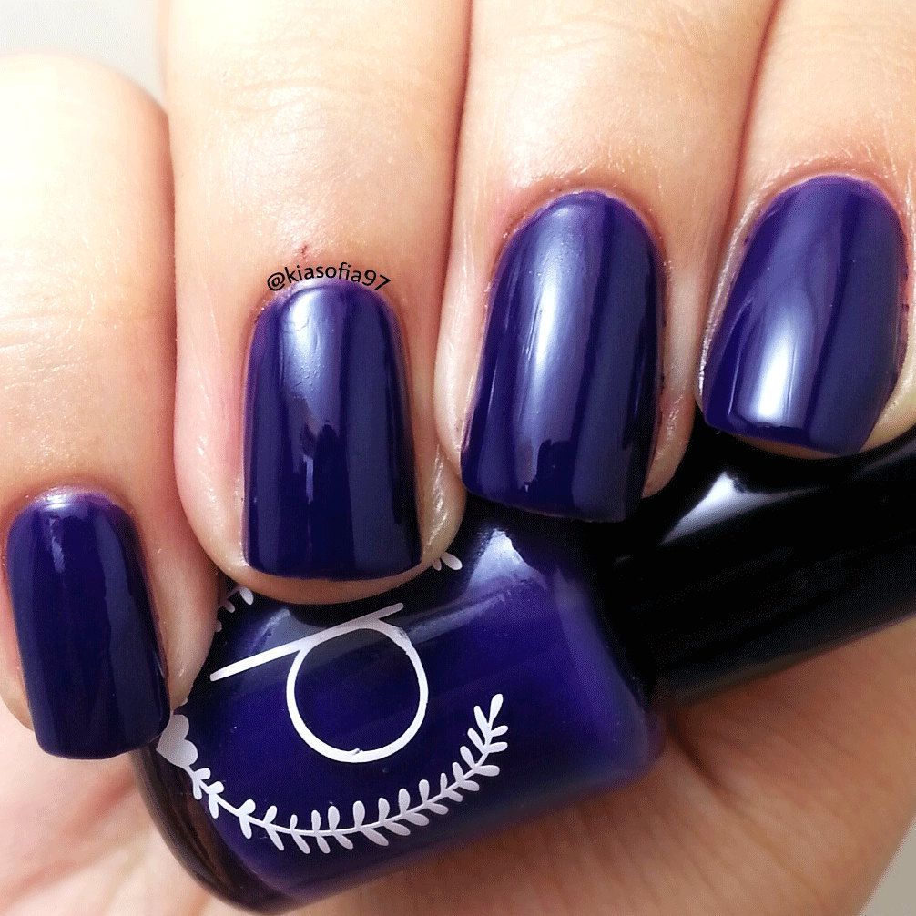 New to ParloCosmetics on Etsy: Purple Nail Polish - Deep Violet - Nail Polish - Stoic (4.75 USD)