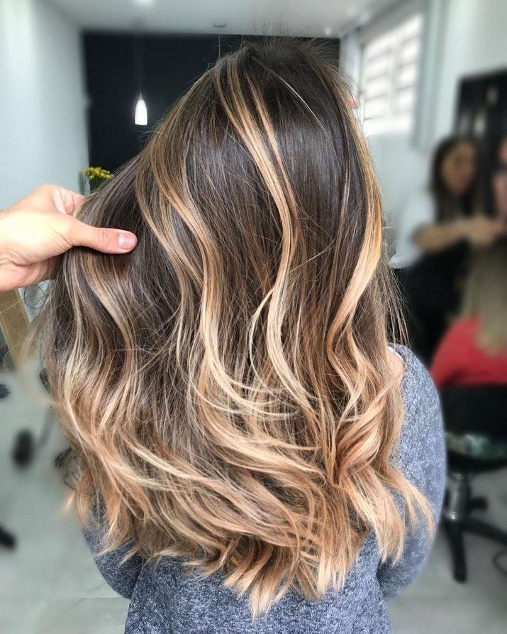 Hair Highlights, Brown Hair With