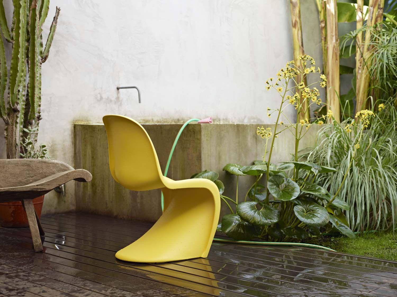 Outdoor design vitra panton chair verner panton
