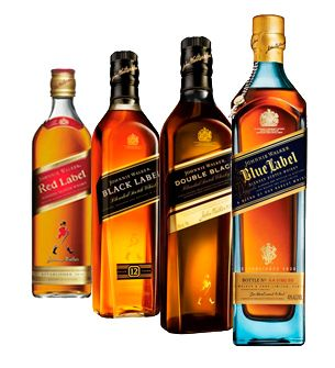 Johnnie walker bottles | ... - Good Spirits. Delivered. - Johnnie Walker Collection (4 bottles