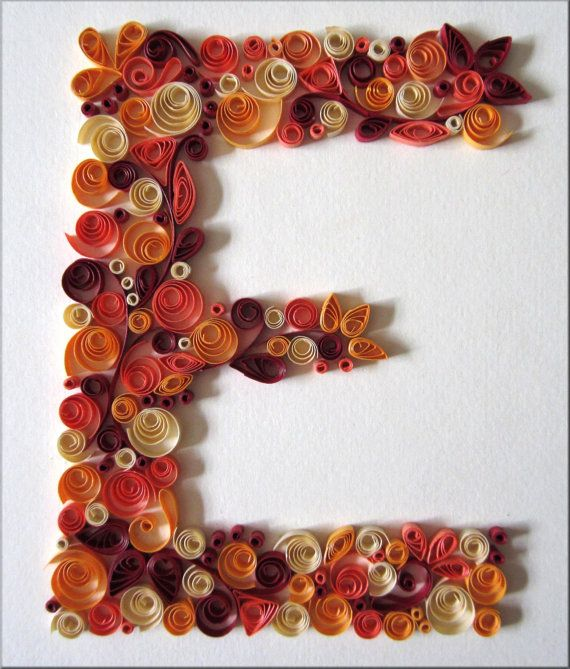 Monogram quilled letter e by colorcourage on etsy monogrammed monogram quilled letter e by colorcourage on etsy altavistaventures Gallery
