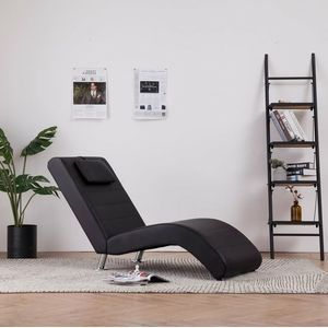 Photo of Chaise longue with cushion faux leather brown – furniture online | BESLIST.be | Collection 2020