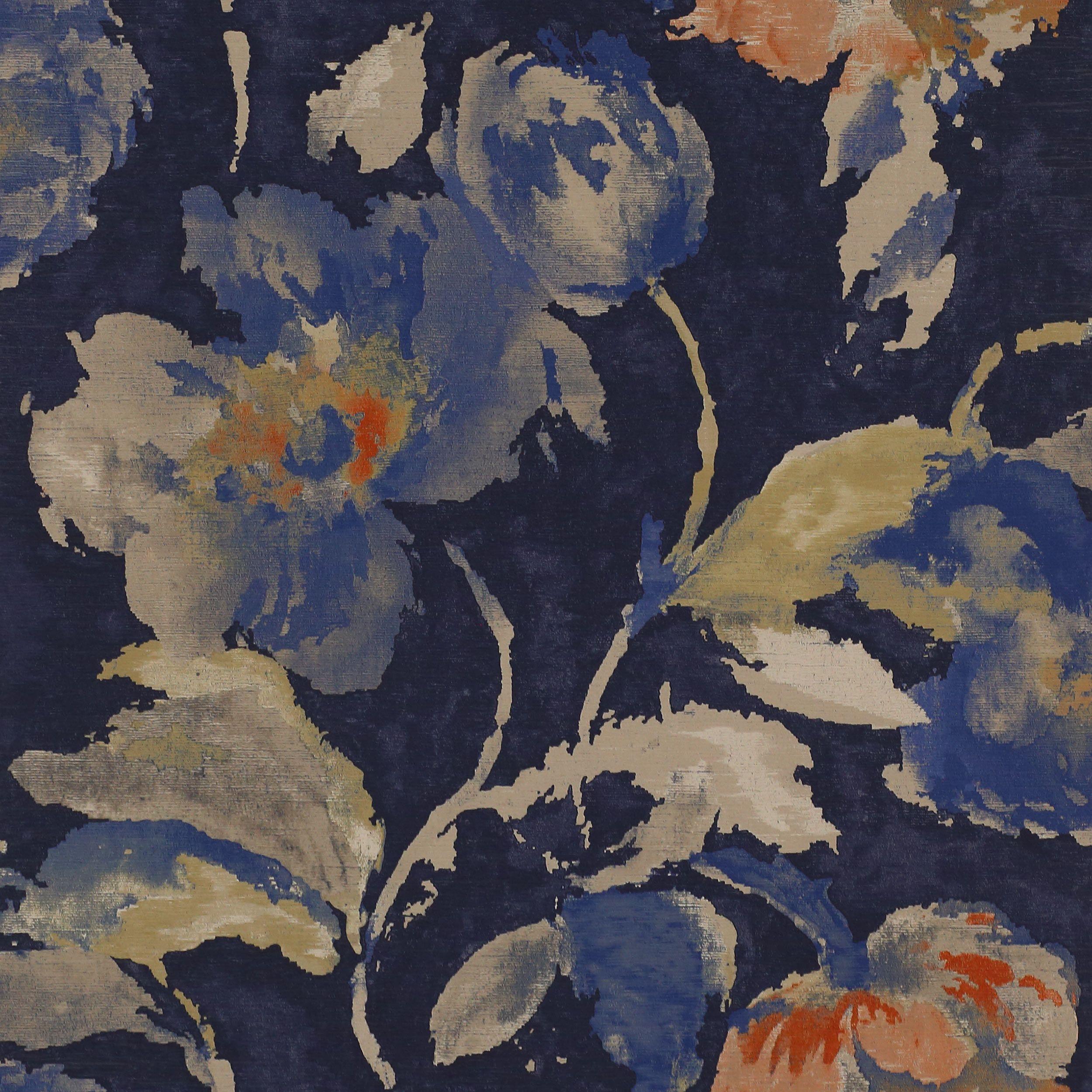 Beatrice Wallpaper, midnight Cowtan & Tout Design