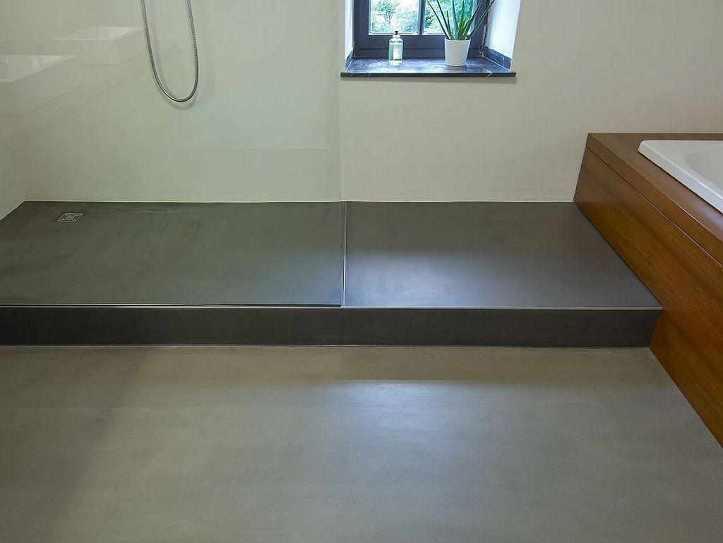Attraktiv Badezimmer Bodenbelag Das Beste Von Klar Strukturiertes Und Minimalistisch Gestaltetes ·