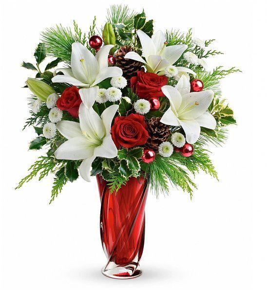 Christmas Bouquet <3 | Christmas and Snow | Pinterest | Christmas ...