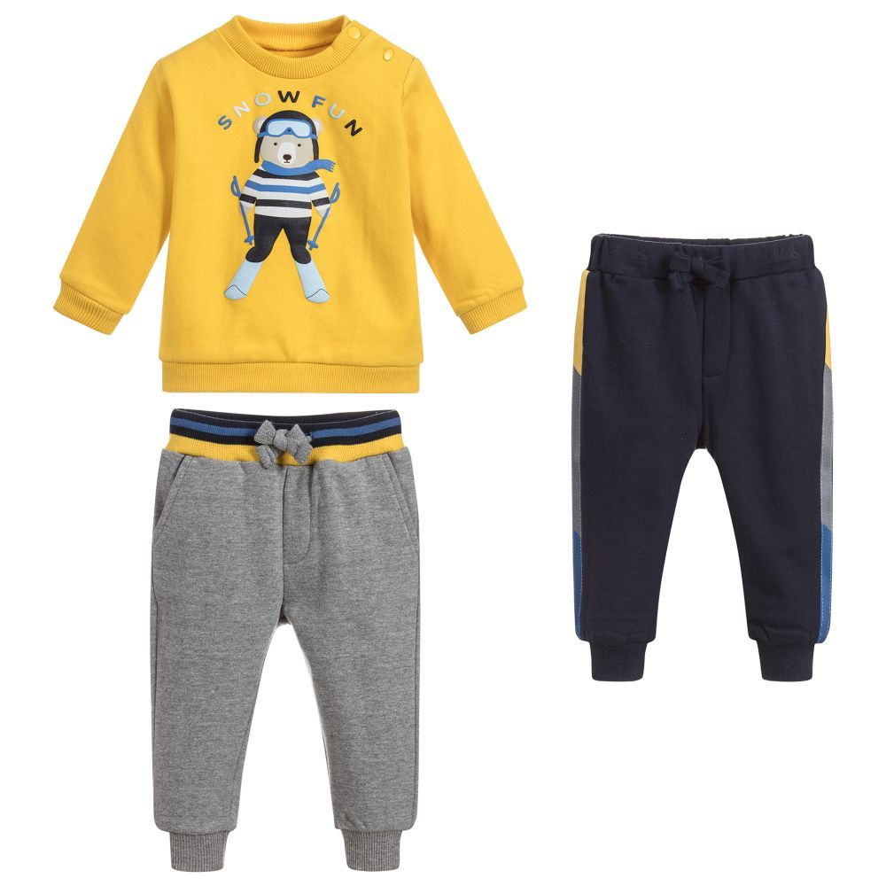 0e47ec63d Boys 3 Piece Tracksuit Set for Boy by Mayoral. Discover the latest ...