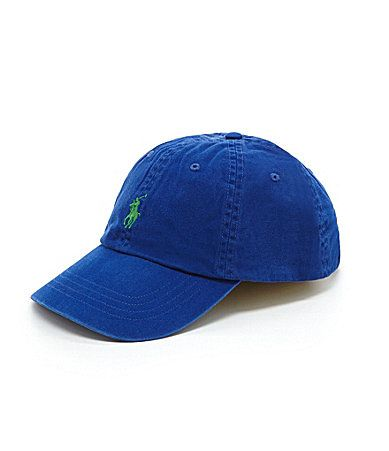 Polo Ralph Lauren Classic Cotton Chino Sports Cap. I need one in grey.
