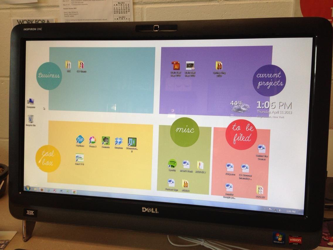 Organizational Desktop Wallpaper ROUNDUP.