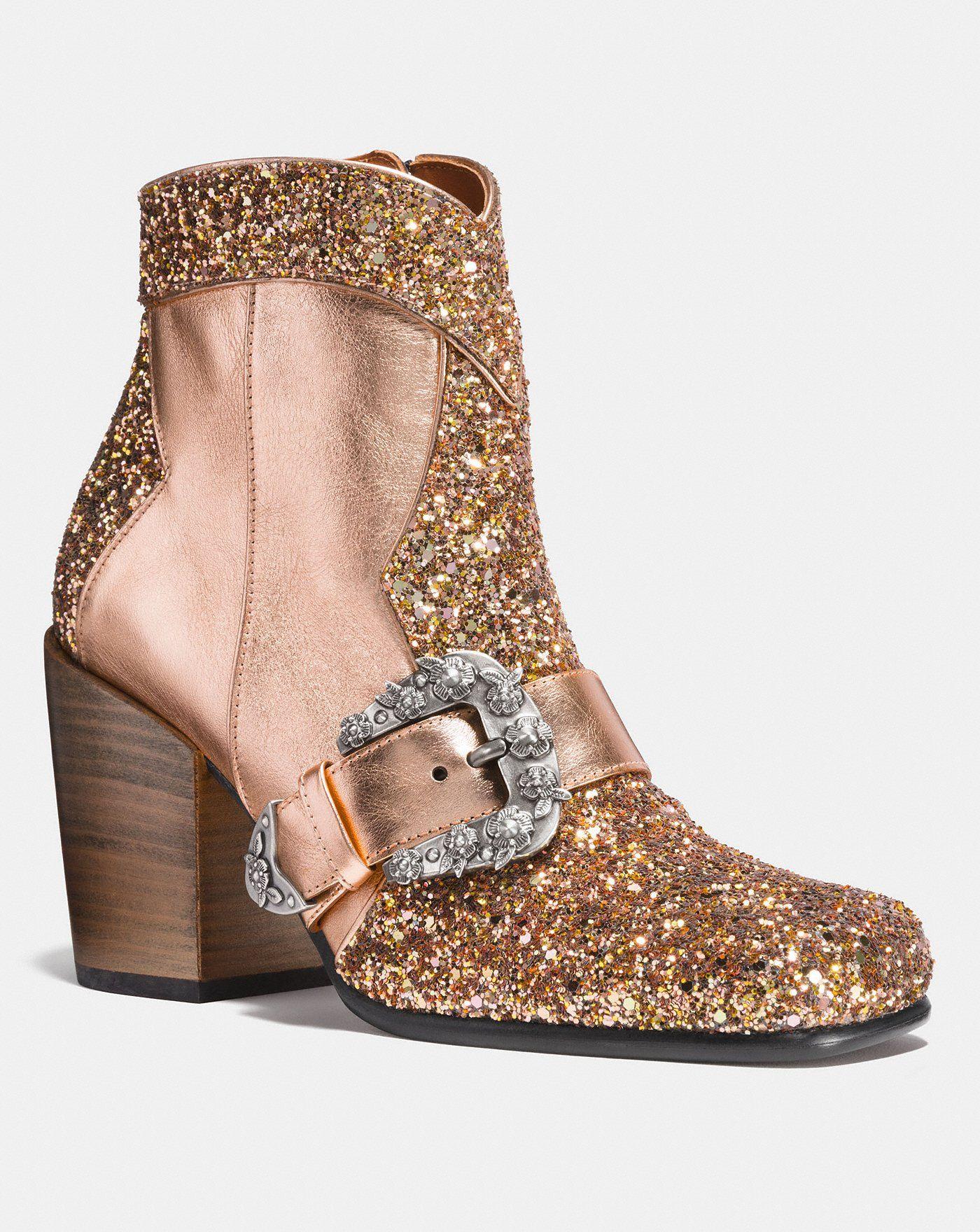 a7235b94575 Western Buckle Bootie   Shoes - Boots   Cowboy shoes, Ankle cowboy ...