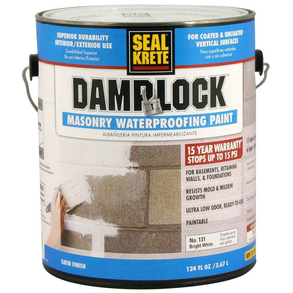 SealKrete 1 gal. Damplock Masonry Waterproofing Paint