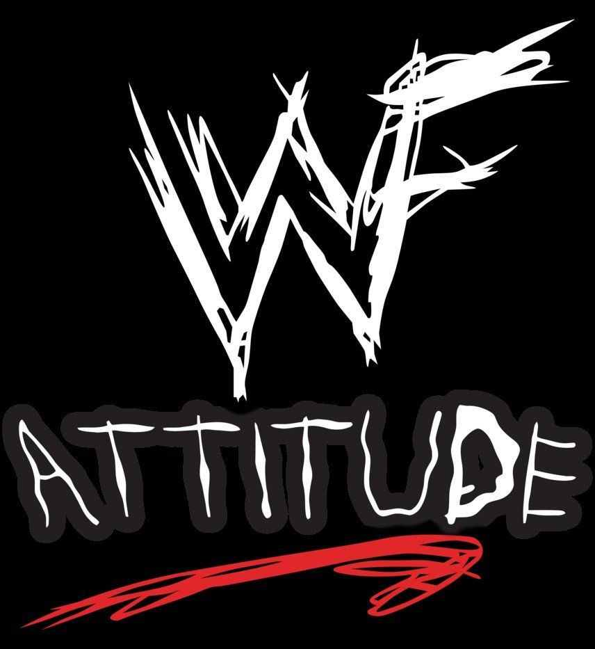 WWF Raw Is War Wallpaper WWF Atitude Video Game Logo by