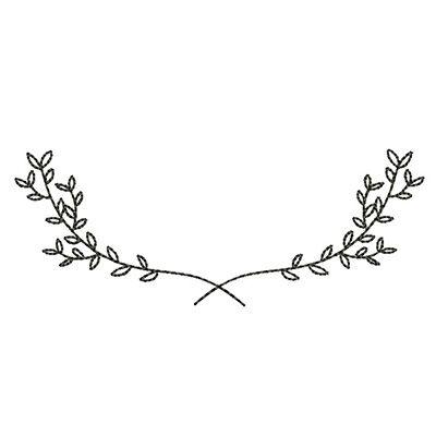 Moldura Acacias Simples 1 Pulseira De Tatuagem Moldura Desenho