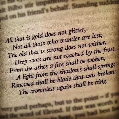 The Crownless Again Shall Be King With Images Tolkien Quotes