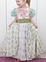 Dreamy dress for little girls.