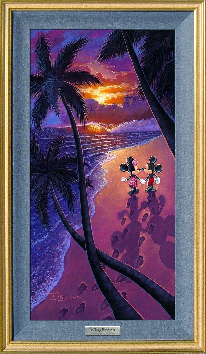 Mickey Mouse - Sunset Stroll - Minnie | Pinterest