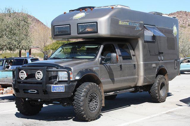 Earthroamer Xv Lt Truk Ford Trucks Recreational
