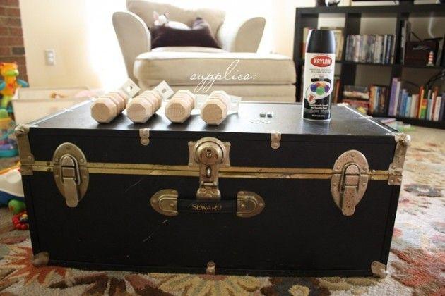 La Table Basse Vintage Qui Change Tout Deco Table Basse Vintage Table Basse Und Malle Ancienne