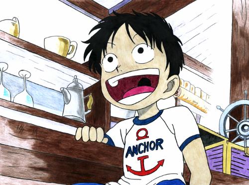 [One Piece] Những hình ảnh đẹp nhất của Monkey D. Luffy