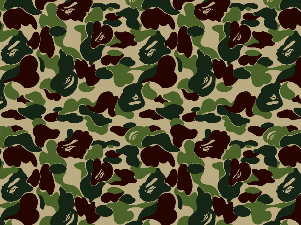 The Bathing Ape Camo Wallpaper Camo Wallpaper Bape