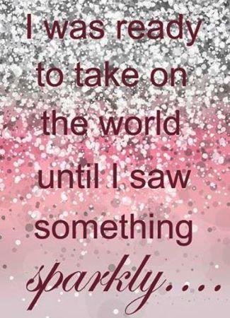 #justsparkle #takeontheworld