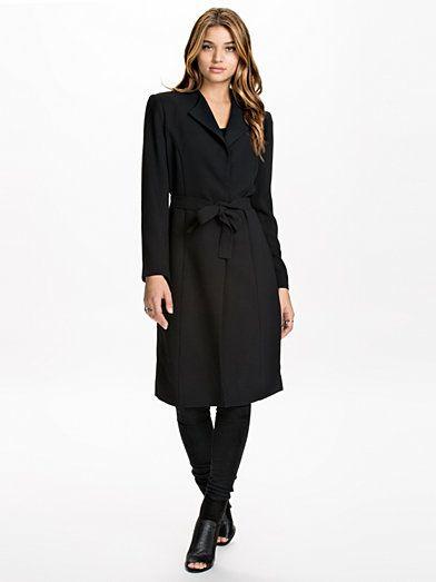 Bianca Coat - Stylein - Sort - Jakker - Tøj - Kvinde - Nelly.com