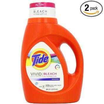 11 98 Tide Vivid White Bright He Original Scent Liquid Laundry Detergent 26 Lo Tide Laundry Detergent Liquid Laundry Detergent Laundry Detergent