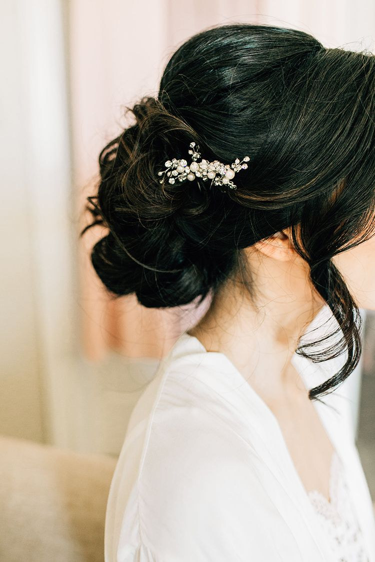 romantic pacific northwest wedding with mauve and champagne