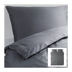 Gaspa Duvet cover with 2 pillowcases - 240x220/50x60 cm - IKEA $49.99 for duvet cover set