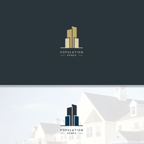Population homes create a logo for my cool east london property population homes create a logo for my cool east london property venture reheart Images