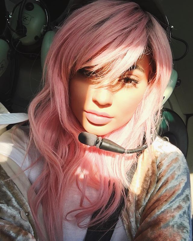 Pin For Later Every Hair Color Kylie Jenner Has Ever Worn Bubblegum Pink For Valentine S Day 2016 Kylie Kylie Jenner Hair Kylie Jenner Pink Hair Jenner Hair
