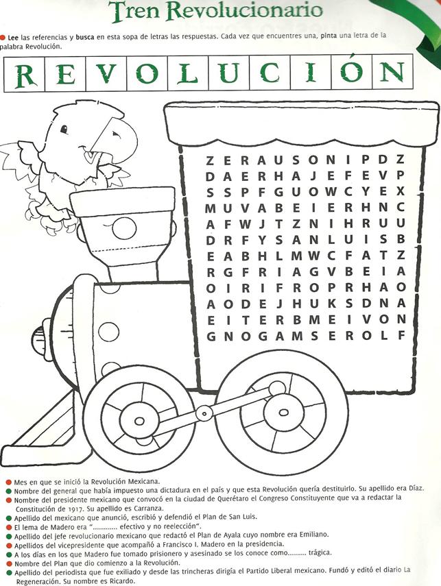 Aniversario Del Inicio De La Revolución Mexicana Tren