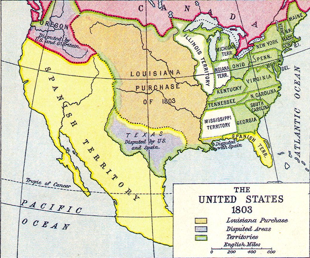 Us Map In 1803 | map | Map, Us map, Diagram  Usa Map on