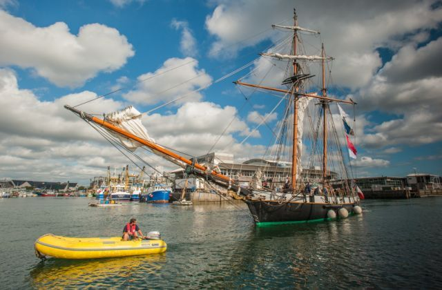 #French #TallShip #Recouvrance #SuttonHarbour #Plymouth 2014