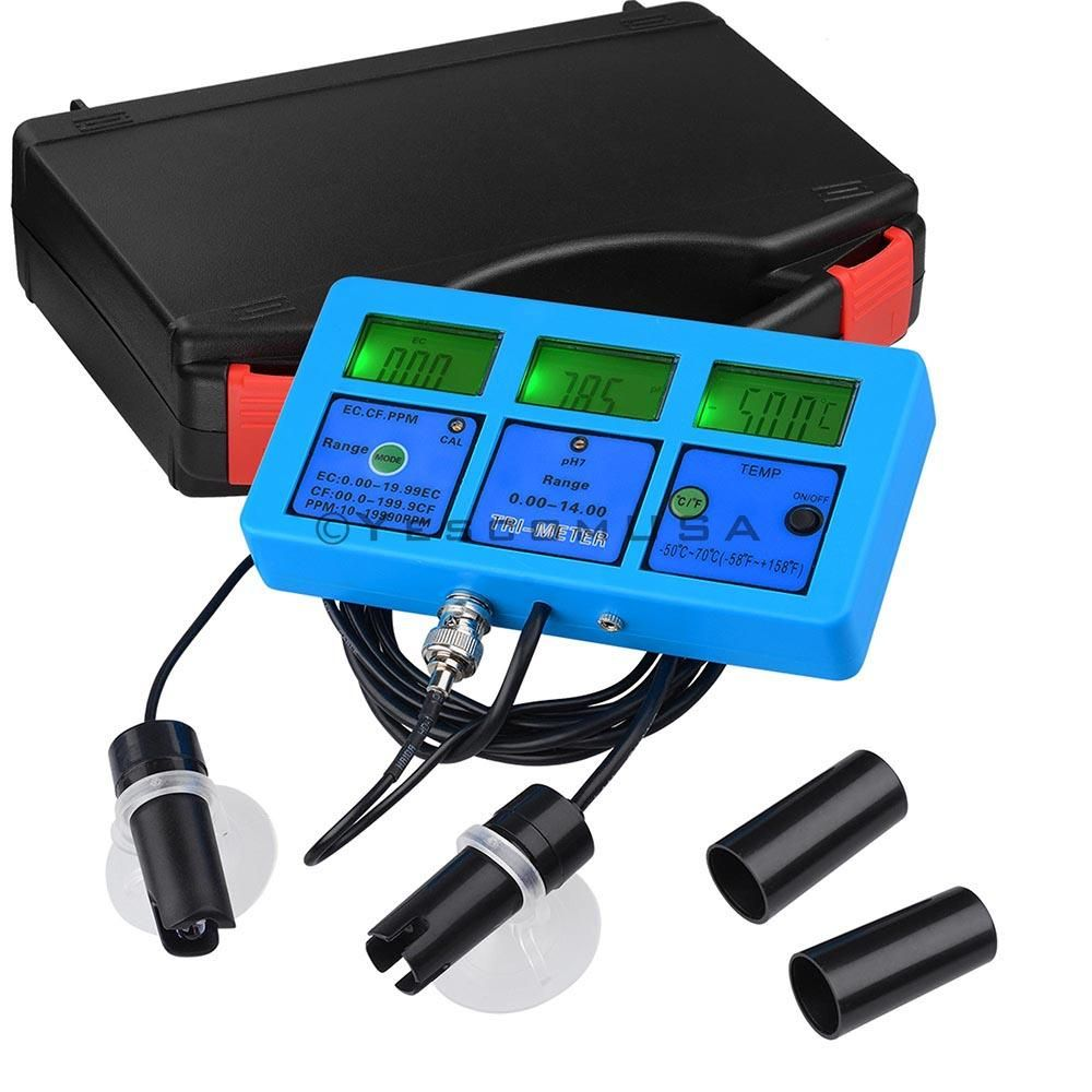 Multifunction Water Tester 6in1 Hydroponics