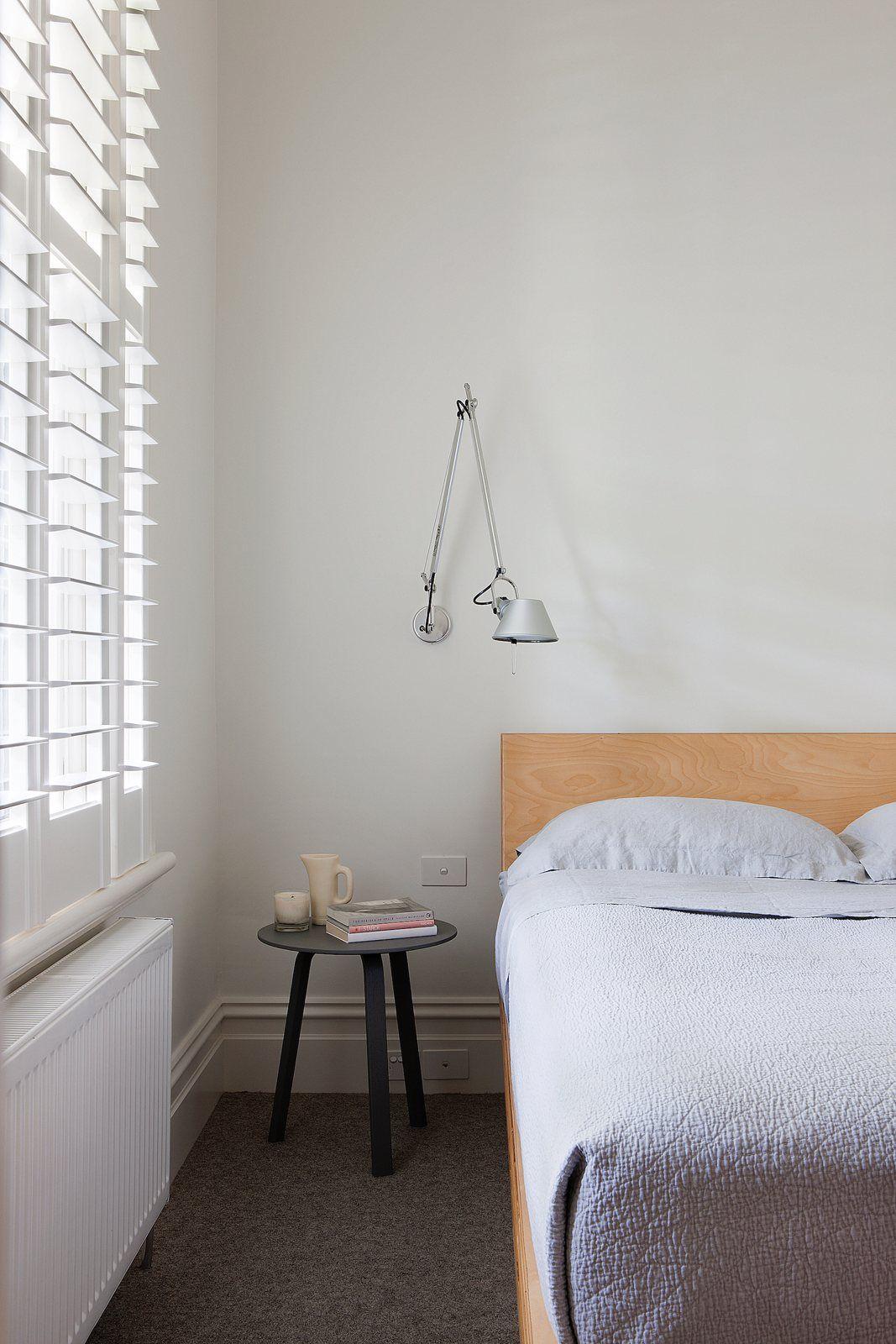 Bedroom Feature With Artemide Tolomeo Parete Micro