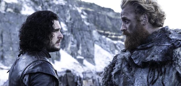 Jon Snow e Tormund