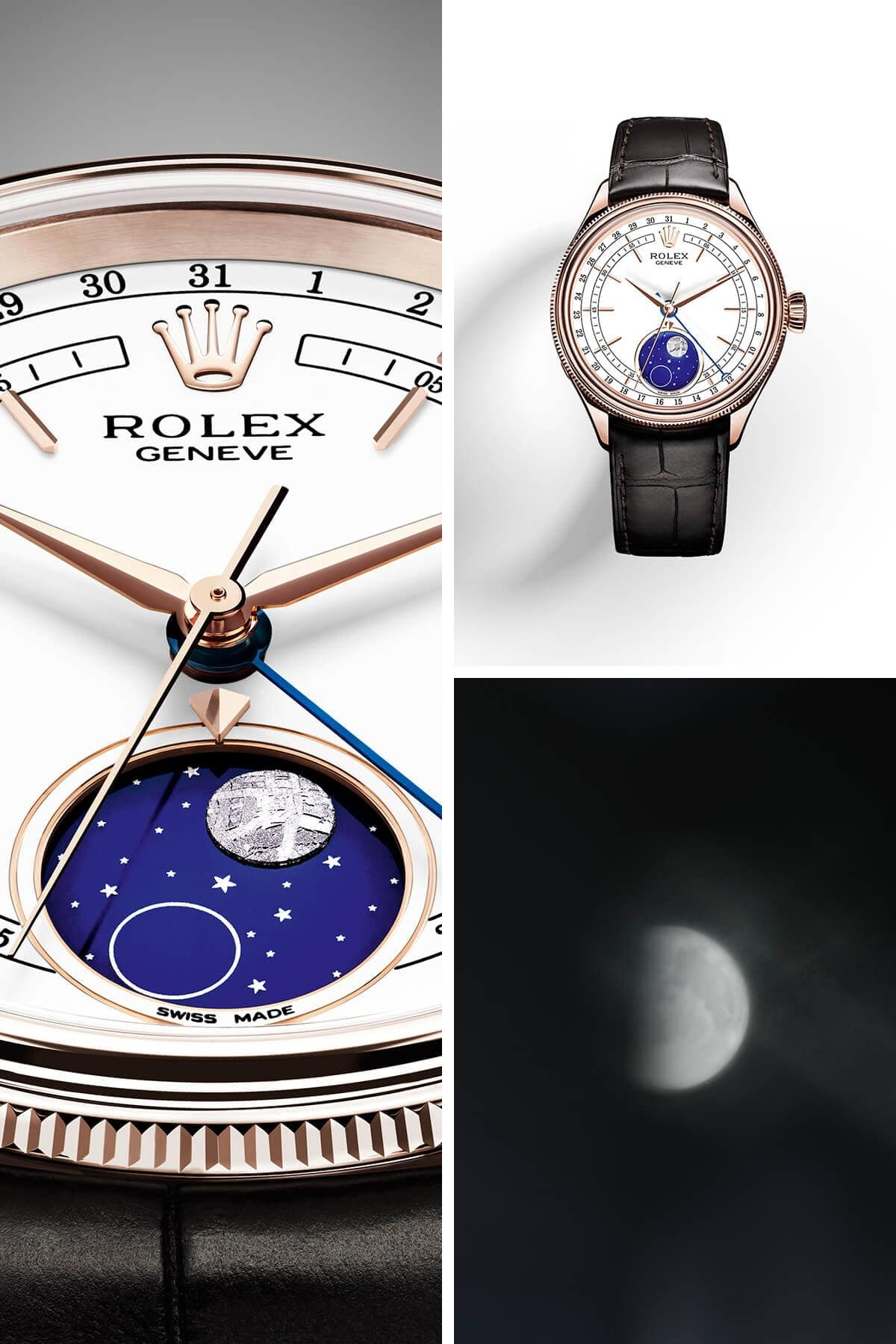 2178863e66f New Rolex Cellini Moonphase watch - Baselworld 2017