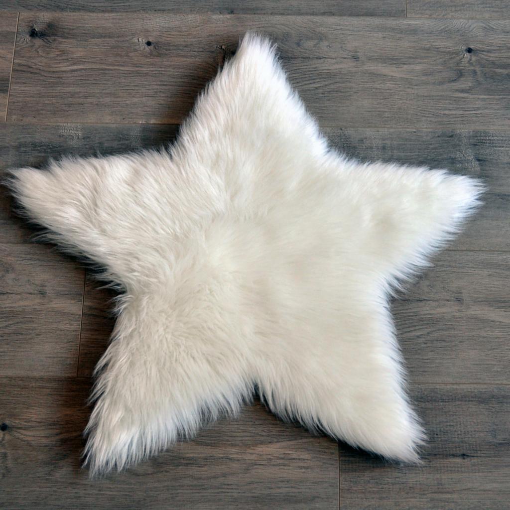 Faux Sheepskin Star Area Rug Project Nursery