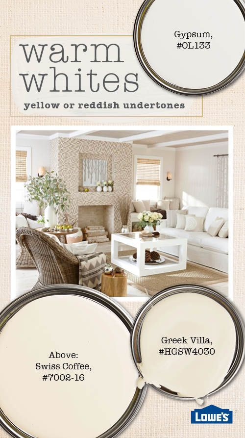 Understanding the undertones of white paint can help you for Creamy neutral paint colors