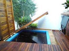 Piletas deck buscar con google patio pinterest for Piletas en espacios reducidos