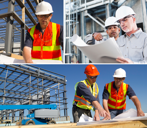 Construction Managers On Site  Project Management
