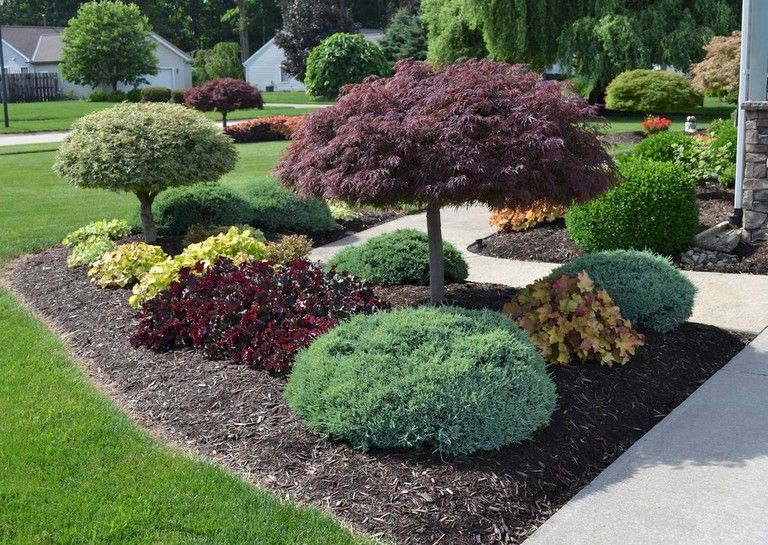 44+ Clean and Beautiful Front Yard Landscaping Ideas on A Budget #frontyarddesign