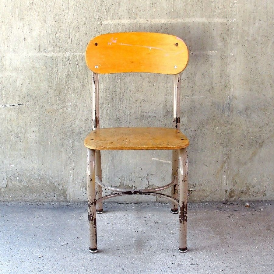 vintage child s school chair 75 chicago http furnishly com