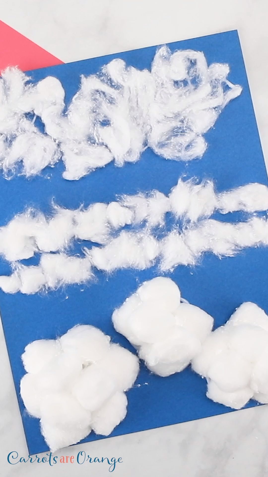 Check out this clouds activity for preschoolers. An easy yet engaging activity to add to your weather unit! #ece #science #weather #cloudsactivity
