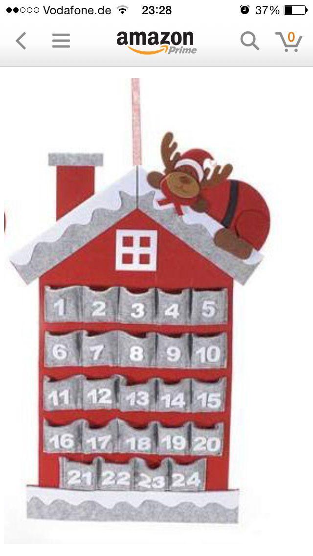Calendario Avvento Pinterest.Idee Calendario Avvento Kari Avvento Idee Calendario