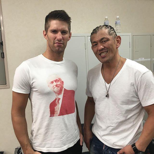 Zach Saber Jr And Minoru Suzuki Professional Wrestling Pro Wrestling Njpw