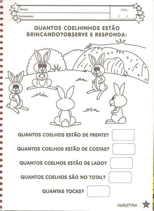 Num5 8 Jpg 528 723 Pascoa Educacao Infantil Atividades Pascoa